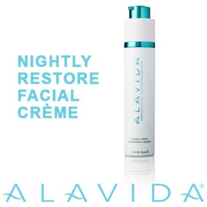 Alavida Nightly Restore Facial Crème
