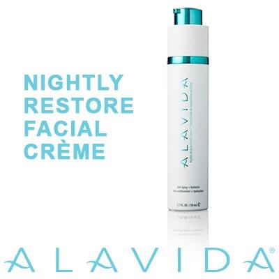 alavida nightly restore facial cream